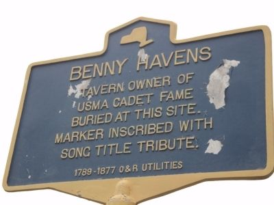 Benny Havens Marker image. Click for full size.