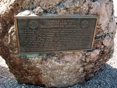 Plaque on Boulder :: image. Click for full size.