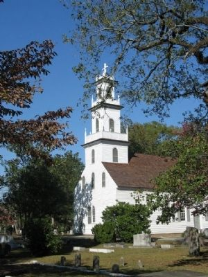 Old St David's Church Cheraw S.C. image. Click for full size.