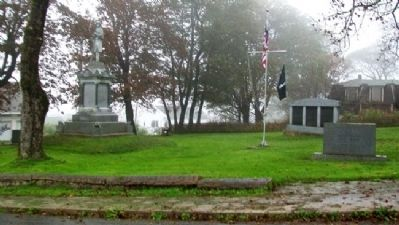 Lubec War and Veteran Memorials image. Click for full size.