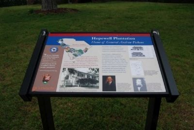 Hopewell Plantation Marker image. Click for full size.