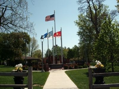 Full View - - Boone County Veterans Memorial Marker image. Click for full size.