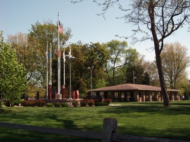 Long View - - Boone County Veterans Memorial image. Click for full size.