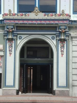 The Lettunich Building Entrance image. Click for full size.