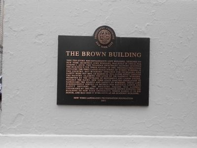 Brown Building Marker image. Click for full size.