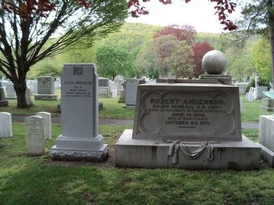 Grave of General Robert Anderson image. Click for full size.