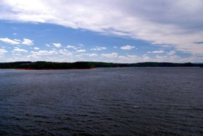 Lake Hartwell image. Click for full size.