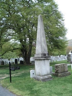 Monument in West Point Cemetery image. Click for full size.