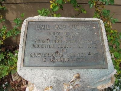 Civil War Armory Marker image. Click for full size.