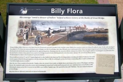 Billy Flora Marker image. Click for full size.