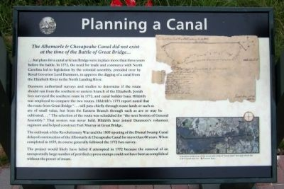 Planning a Canal Marker image. Click for full size.