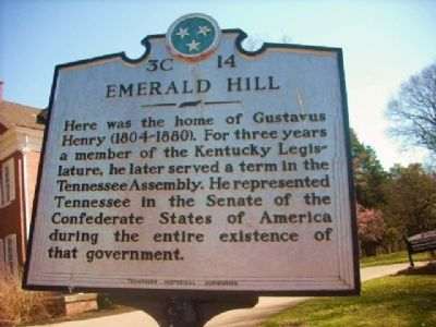 Emerald Hill Marker image. Click for full size.