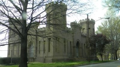 "Washington Aqueduct: ""Castle Gatehouse"" / Georgetown Reservoir Pumping Station image. Click for full size."