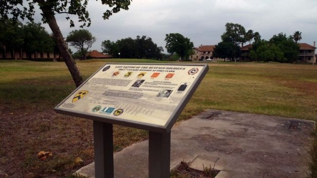2nd Cavalry Division interpretive signage near marker site image. Click for full size.