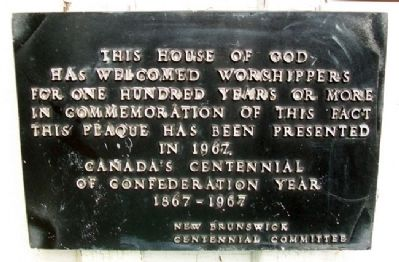 St. Anne's Anglican Church Marker image. Click for full size.