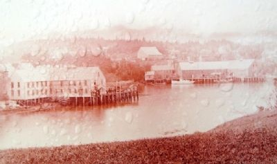 Photo on Lubec, Maine Marker image. Click for full size.