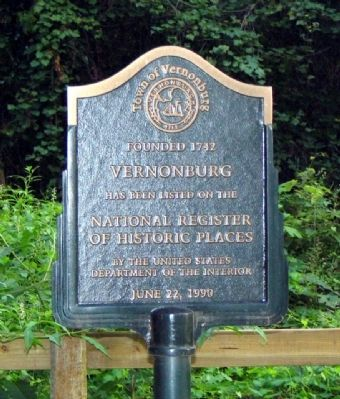 Vernonburg Marker image. Click for full size.