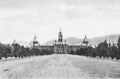 "Napa State Hospital - ""The Castle"" image. Click for full size."