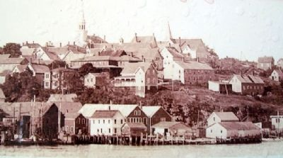Photo of Lubec, Maine on Marker image. Click for full size.