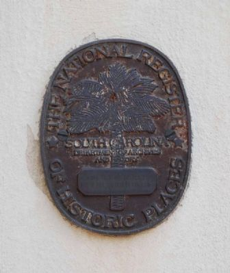 First Presbyterian Church<br>National Register Medallion image. Click for full size.