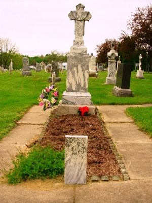 Father Samuel Mazzuchelli Gravesite image. Click for full size.