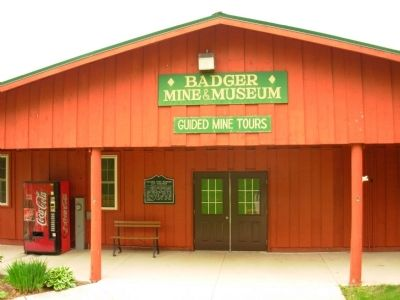 Badger Mine and Museum image. Click for full size.