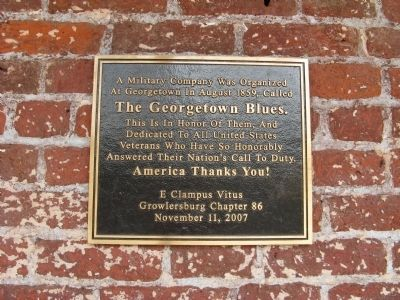 Georgetown Blues Marker image. Click for full size.