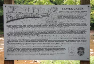 Beaver Creek Marker image. Click for full size.