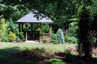 Hatcher Garden & Woodland Preserve Central Gazebo image. Click for full size.