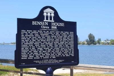 Bensen House Marker image. Click for full size.