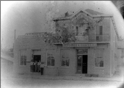 Historic view Partrick Building front elevation image. Click for full size.