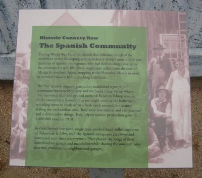 The Spanish Community Marker image. Click for full size.