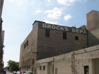 Brock's Department Store image. Click for full size.