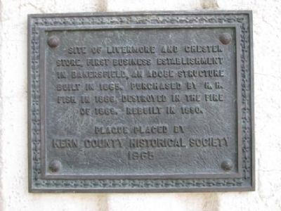 Livermore and Chester Store Marker image. Click for full size.