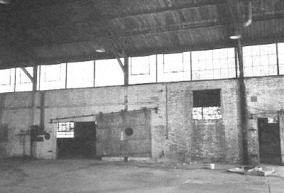 Curtiss-Wright Hangar Interior image. Click for full size.