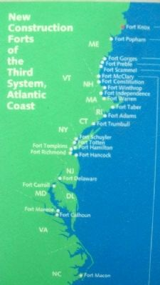 East Coast Forts on Grand Plan Marker image. Click for full size.