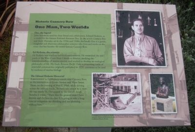 One Man, Two Worlds Marker image. Click for full size.