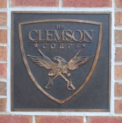 Clemson Corps Emblem image. Click for full size.