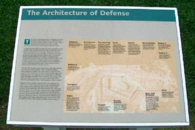 The Architecture of Defense Marker image. Click for full size.