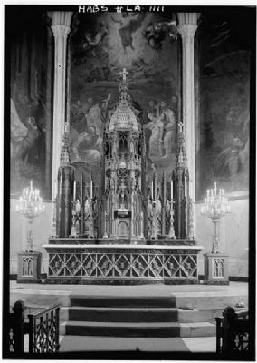 St. Patrick's Church Main Altar image. Click for full size.
