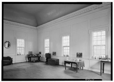 Hampton Plantation Ballroom image. Click for full size.