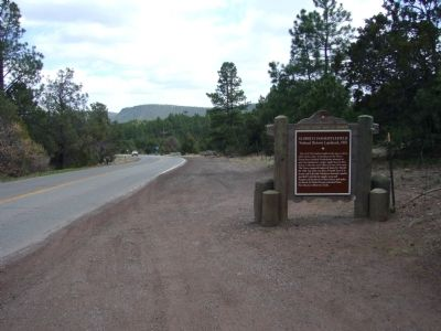 Glorieta Pass Battlefield Marker image. Click for full size.