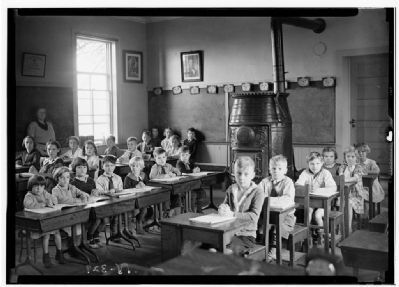 North Greenbush One Room School image. Click for full size.