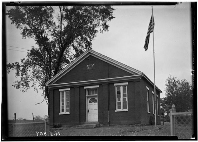 The North Greenbush One Room School image. Click for full size.