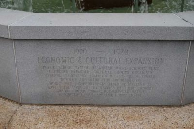 Elberton Granite Bicentennial Memorial Fountain<br>Tenth Panel image. Click for full size.