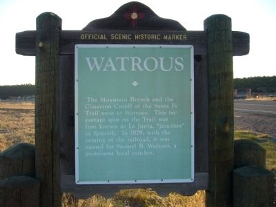 Watrous Marker image. Click for full size.