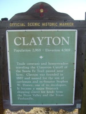 Clayton Marker image. Click for full size.
