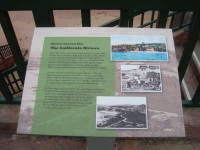 The California Riviera Marker image. Click for full size.