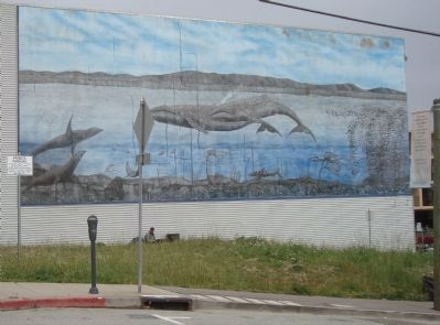 Whale Mural image. Click for full size.