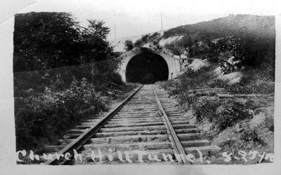 Church Hill Tunnel image. Click for full size.